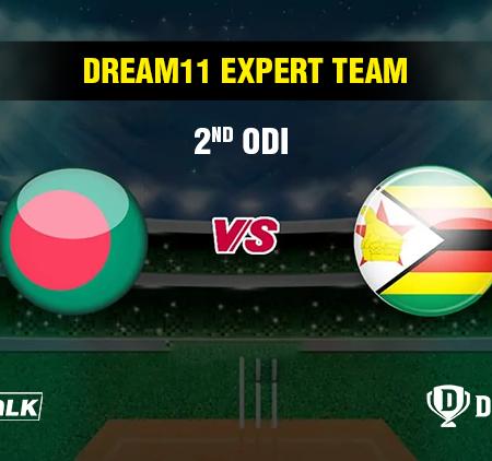 BAN vs ZIM 2nd ODI Dream11 expert team | Dream11 tips