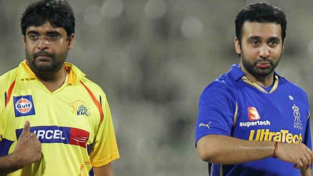 The suspension of the Team from IPL and comeback
