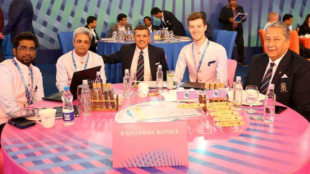 Rajasthan Royals team 2020 auction
