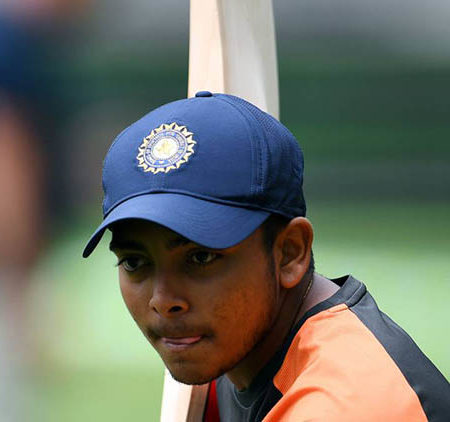Prithvi Shaw – Age, Height, Family, Biography, Career, Stats & more