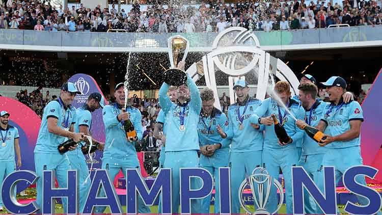 2019 – England finally won the ICC Cricket World Cup
