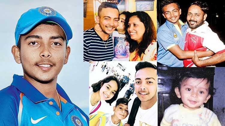 Prithvi Shaw Family and Personal Life