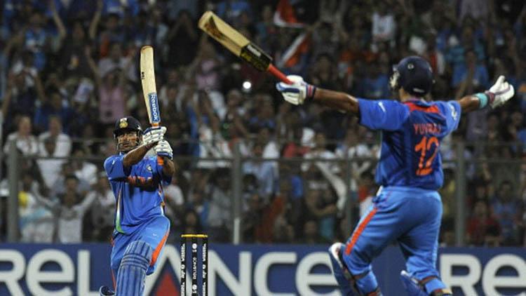 2011 – Dhoni's Winning Six & India Winning their 2nd ODI World Cup