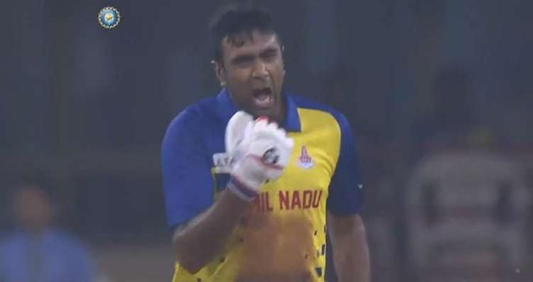 Ravichandran Ashwin against Karnataka (Syed Mushtaq Ali Trophy 2019)