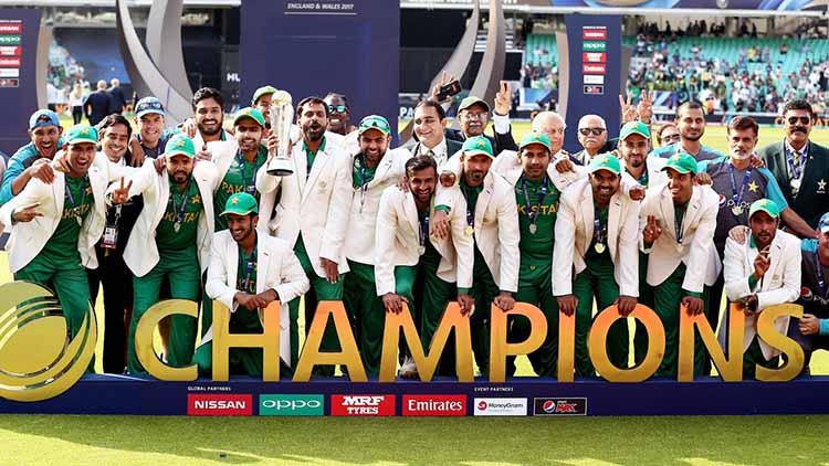 2017 – Pakistan Winning the Champion Trophy
