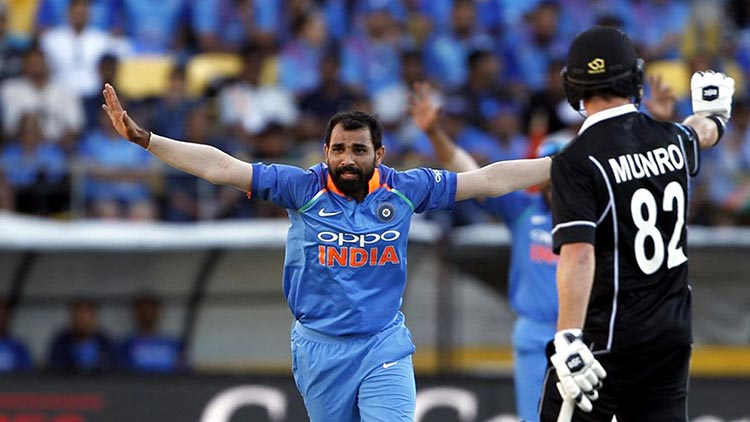 Md Shami's International Career