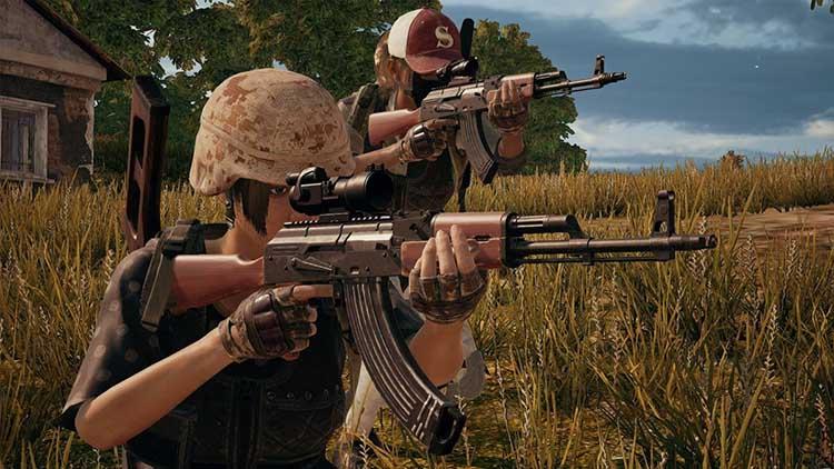 AKM - assault rifle in pubg