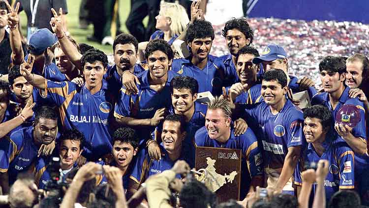 2008 IPL Winner – Rajasthan Royals