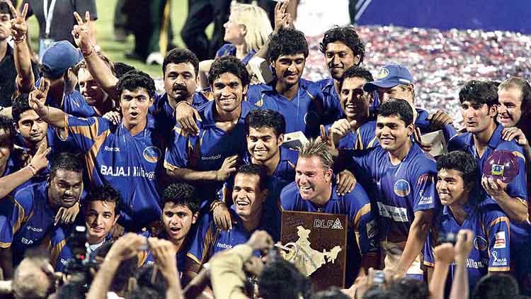 2008 IPL Winner – Rajasthan Royals