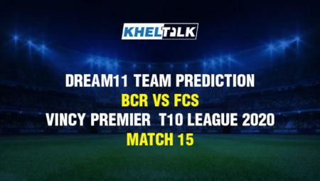Dream11 Team Prediction – Botanic Gardens Rangers vs Fort Charlotte Strikers – Vincy Premier T10 League 2020 – Match 15