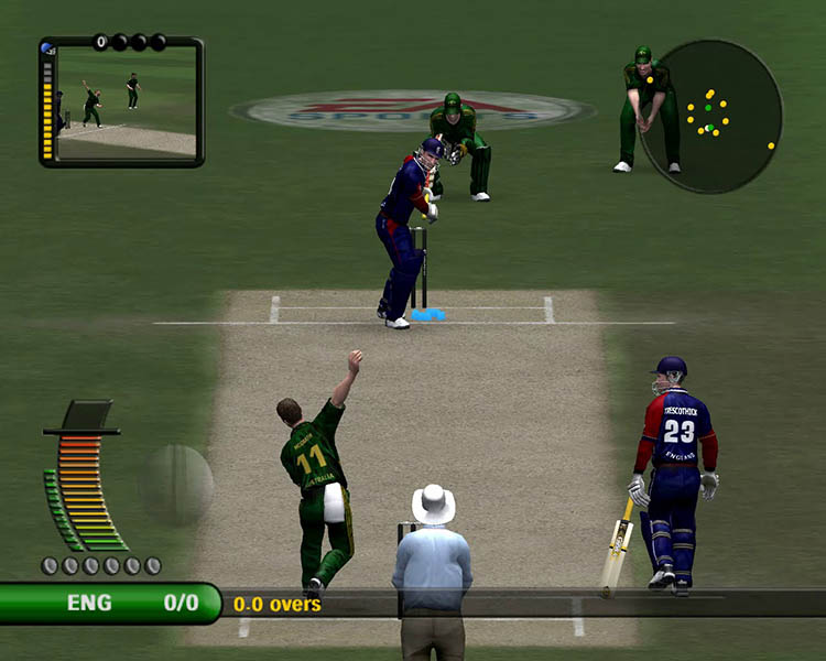 EA cricket 07 - Dismiss an entire Team in 10 balls