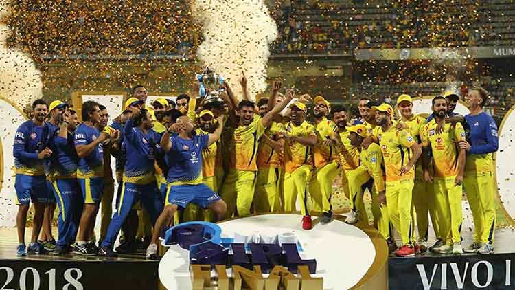 018 IPL Winner – Chennai Super Kings