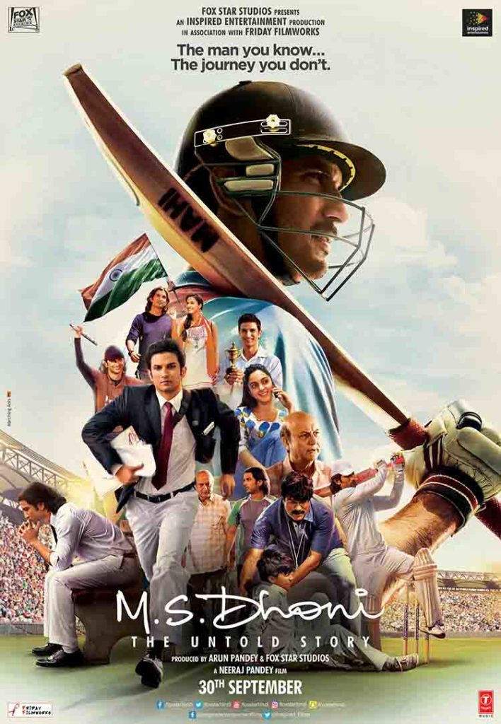 MS Dhoni – The Untold Story (2016)