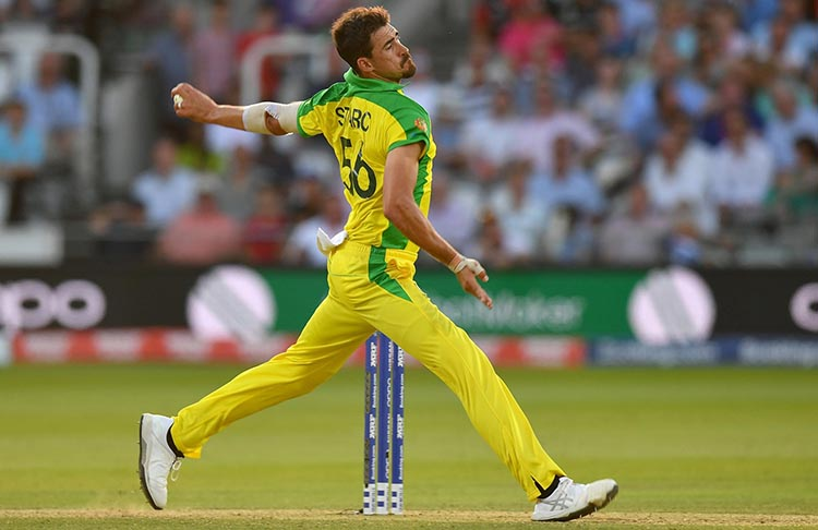5 bowlers who can break Shoaib Akhtar's Record for the fastest ball in Cricket History   - Mitchell Starc (Australia) – 160.4 KM/HR