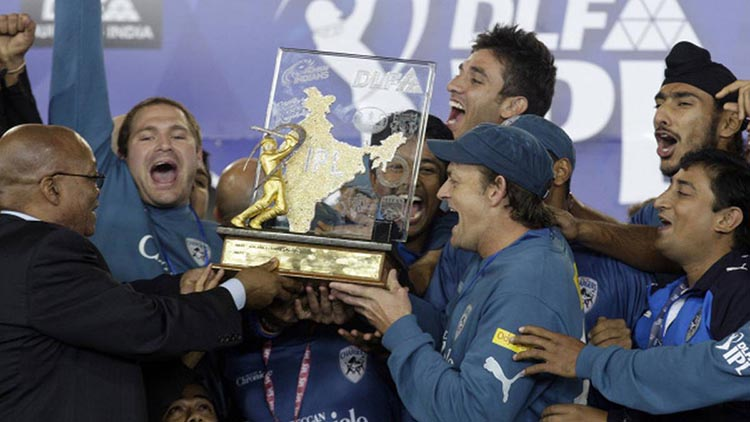 2009 IPL Winner – Deccan Chargers