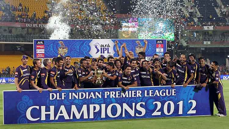2012 IPL Winner – Kolkata Knight Riders