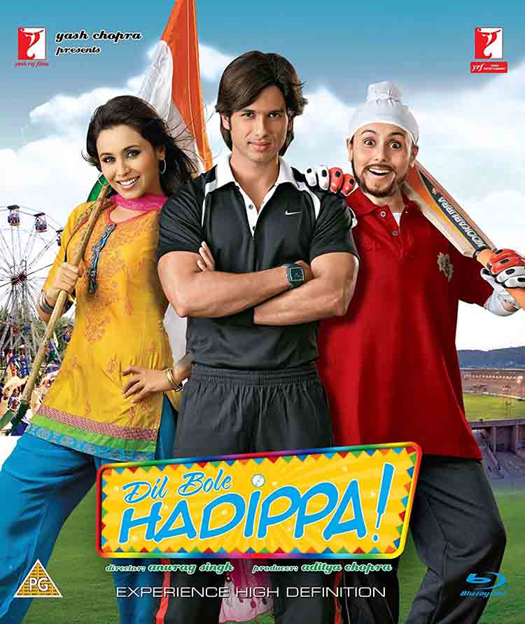 Dil Bole Hadippa (2009) - Hindi cricket movies