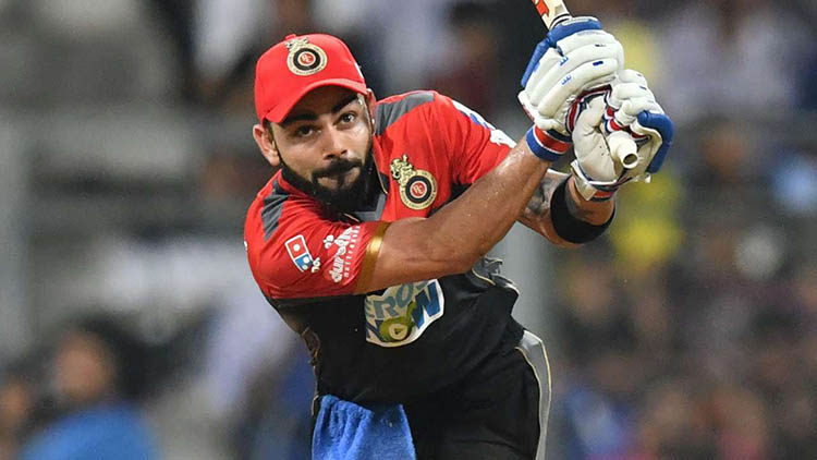 Virat scored a 50 when none of his Teammates touched double digits
