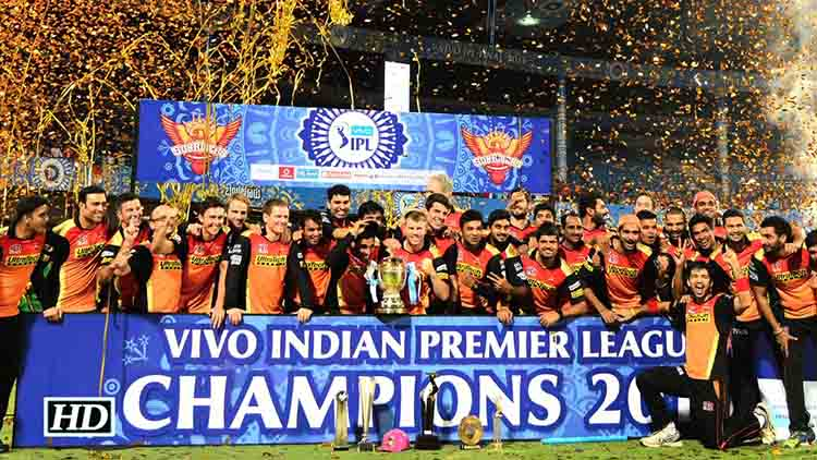 2016 IPL Winner – Sunrisers Hyderabad