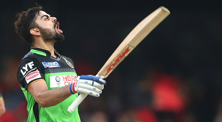 The only IPL player to reach 5000 runs mark on the Indian soil