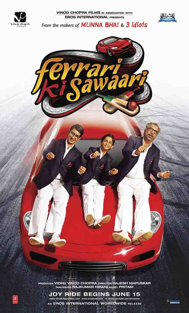 Ferrari Ki Sawaari (2012)  - Hindi cricket movies