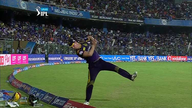 Chris Lynn showcased a brilliant effort