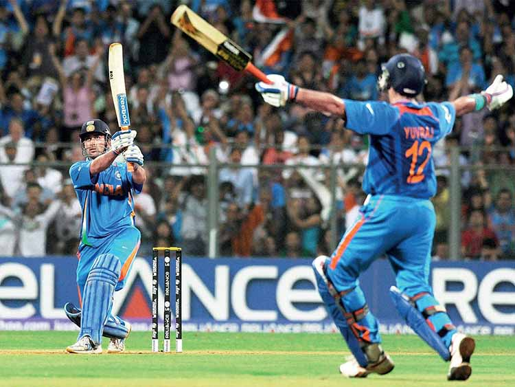The 2011 ICC Cricket World Cup Winning Six by MSD