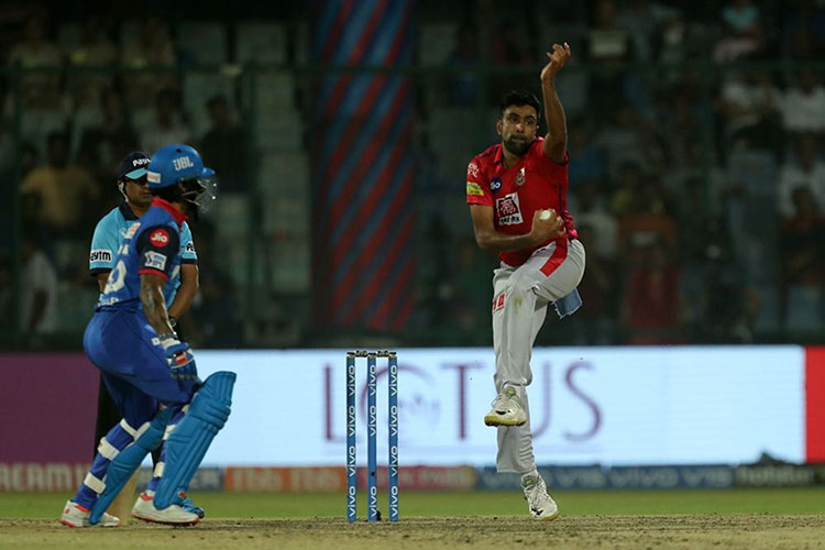 Shikhar Dhawan shows off his moves on the crease