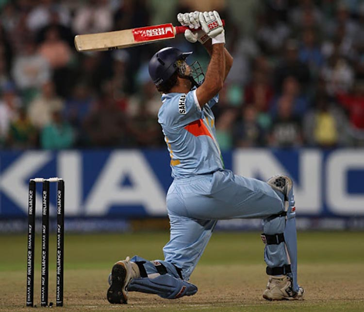 6 Sixes in an over of the inaugural T20 World Cup