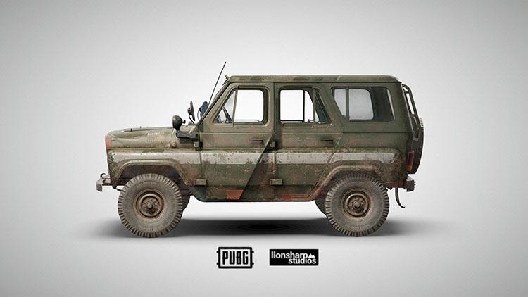 Pubg vehicles - UAZ