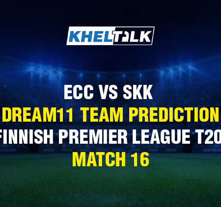 ECC vs SKK Dream11 Team Prediction & Match Prediction – Finnish Premier League T20 – Match 16