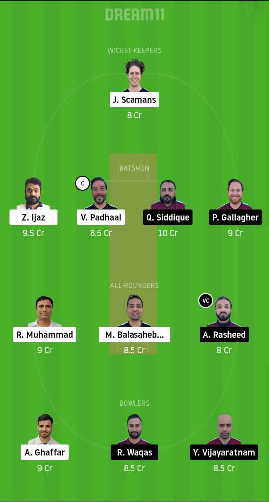 Dream11 Fantasy Team #1