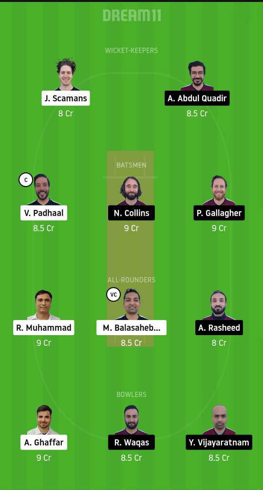 Dream11 Fantasy Team #2