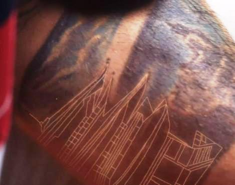 Monastery tattoo