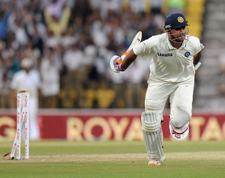 MS Dhoni got Run-out on 99 against England