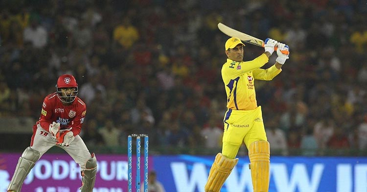 MS Dhoni's 79* off 44 Balls in a Chennai Super Kings Vs Kings XI Punjab Match