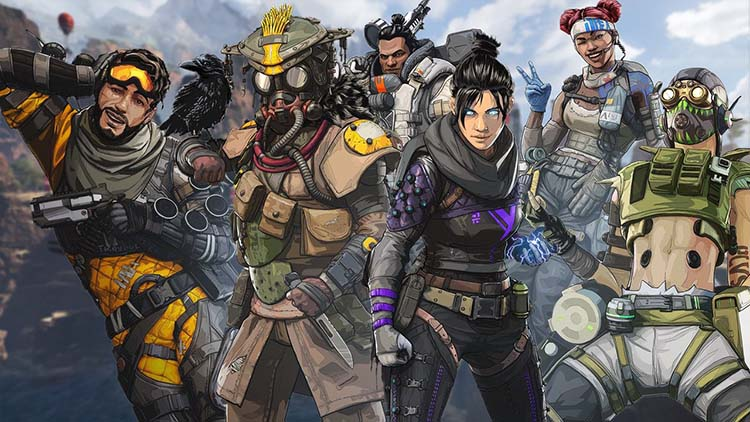 How many players are on each team in apex legends?