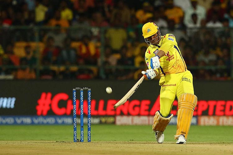 MS Dhoni's 84* off 48 Balls in a Chennai Super Kings Vs Bangalore Royal Challengers Match