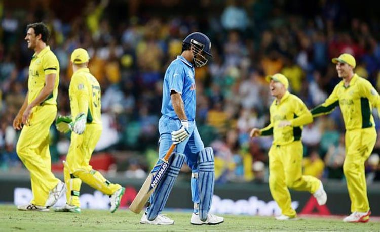 MS Dhoni's Run-out in 2015 World Cup Semi-Final
