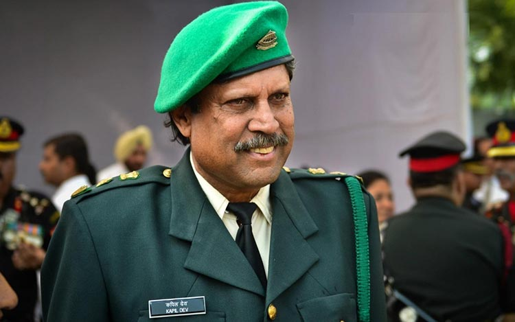 Kapil Dev - Lieutenant Colonel, Indian Territorial Army