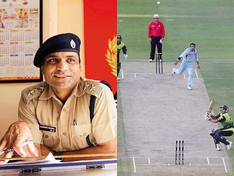 Joginder Singh -Deputy Superindent of Police, Haryana