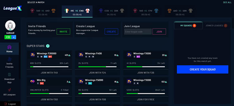 How to play and win on LeagueX?