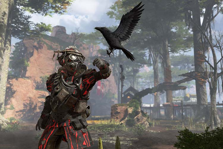 How many characters does Apex Legends feature?