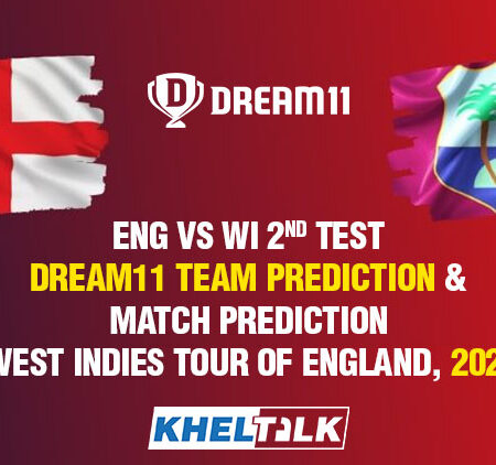 ENG vs WI 2nd Test – Dream11 Team Prediction & Match Prediction – West Indies tour of England, 2020