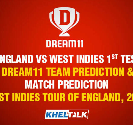 England vs West Indies,1st Test – Dream11 Team Prediction & Match Prediction – West Indies tour of England, 2020