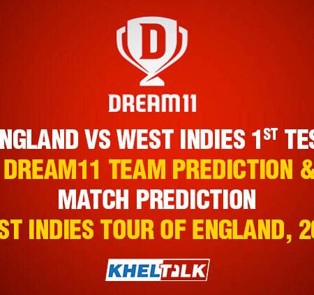 England vs West Indies,1st Test – Dream11 Team Prediction & Match Prediction – West Indies tour of England, 2020