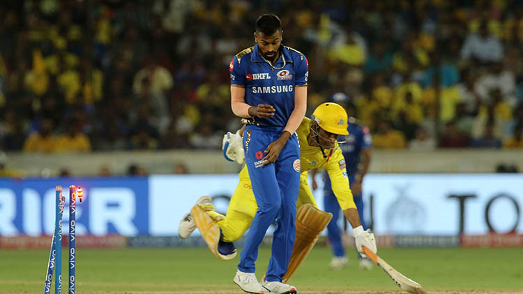MS Dhoni's Controversial Run-Out in the IPL Final in 2019