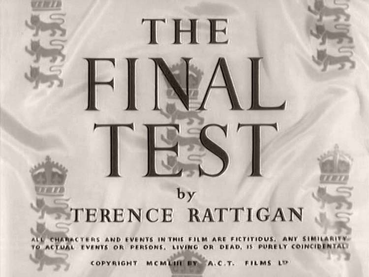 The Final Test (1953)