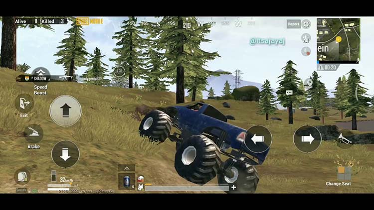 How to get a Monster Truck in PUBG Mobile?