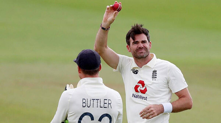 James Anderson becomes the first Pacer to take 600 Wicket in Test Cricket